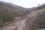 Approaching Bradway Tunnel