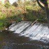 Weir on the Water of Leith at Woodhall