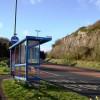 Bus shelter, Waterside, Three Beaches, Paignton