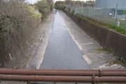 River Rea Passes Under Duddeston Mill Road