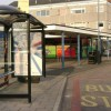 New bus shelter, Spinney Hill shops