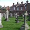 Quiet neighbours, Milverton cemetery, Leamington Spa