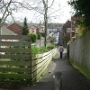 Hill Street and footpath from Beauchamp Road