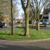 Too small to park on: Derwent Close, Leamington Spa