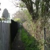 Footpath between Millbank and Coventry Road, Warwick