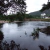 Bend in the River Spey looking back at Aviemore