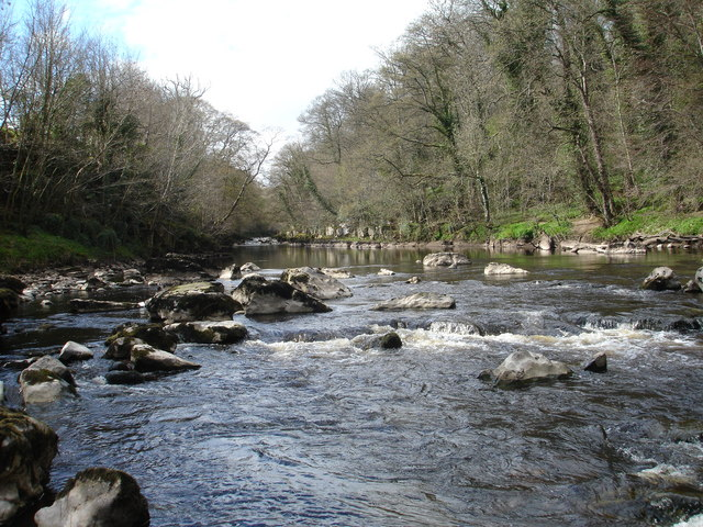 The end of Abbey Rapids