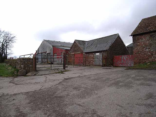 Farm buildings at Longdyke Farm