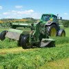 Mowing for silage