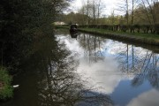 Tranquil scene on the Caldon Canal
