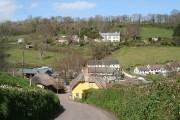 Branscombe: towards the Village Hall