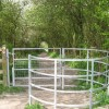 A modern Kissing Gate on the Footpath from Wilstone Reservoir
