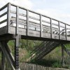 Wendover Arm: A New Wooden Footbridge over the Canal