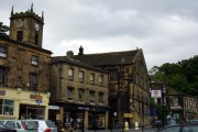 Holmfirth village centre