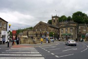 The centre of Holmfirth