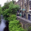 The River Holme in Holmfirth