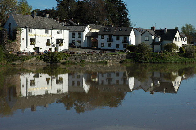 The River Usk at Caerleon