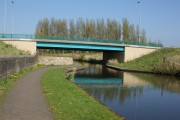 Road bridge over the Leeds Liverpool canal