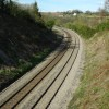The railway at Caerleon