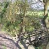 Footbridge on path from Ashurst Beacon
