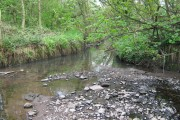 River Rea With Small Brook Joining From Right