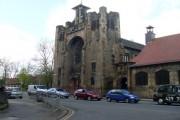 Impressive church on Alexandra Parade