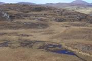 Moorland looking towards Dun Chonaill