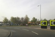 A18 roundabout