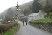 Llanymawddwy village