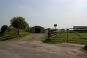 Entrance to Manor farm