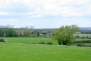Fields north of Redlynch Lane