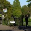 North-west corner of St James' Park