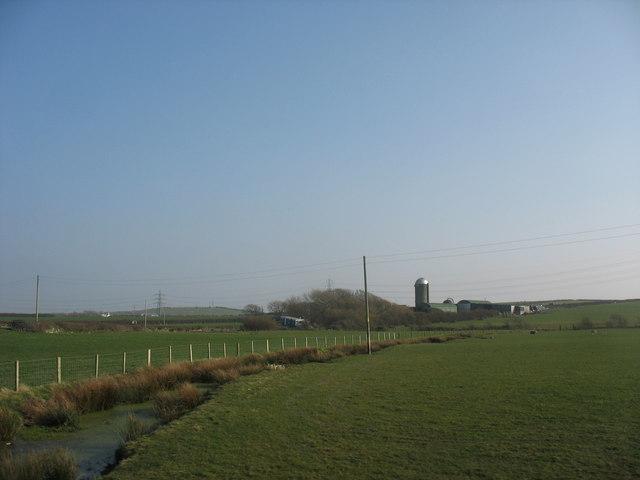 Cleifiog Isaf Farm, Valley