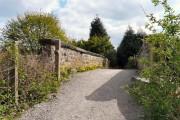 Footbridge at Woodley
