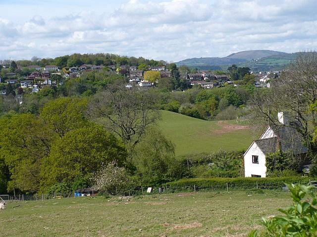 View from Pillmawr Road near Caerleon