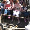 Tring Spring Fayre in Church Square 2009: Children with baby animals