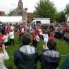 Dancing the Maypole at Reach Fair