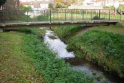 The River Shuttle in Willersley Park, Blackfen