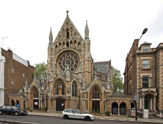 St John the Baptist Church, Holland Road, London W14
