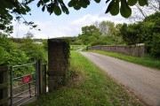 Railway Bridge near Shucknall
