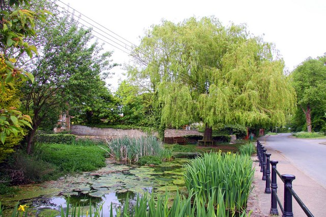 Sunningwell village pond
