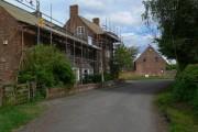 Building work in Osbaston, Leicestershire