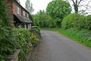 Osbaston Lane in Osbaston, Leicestershire