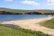 The beach at Burrafirth