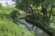River Tame near Bentley Road