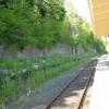Wolsingham railway station platform