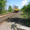 Train approaching Wolsingham