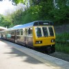 Train at Wolsingham railway station