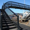 Footbridge at Castlerock station