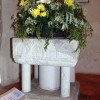 St Mary, Stalisfield, Kent - Font